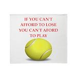tennis, Throw Blanket
