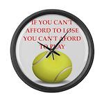 tennis, Large Wall Clock