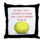 tennis, Throw Pillow