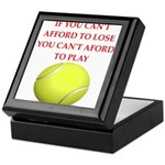 tennis, Keepsake Box