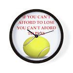 tennis, Wall Clock