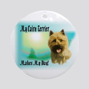Cairn Terrier Gifts Ornament (Round)