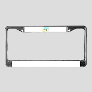 Marca Hispanica License Plate Frame