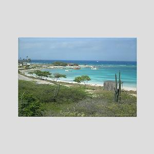 Aruba Desert Rectangle Magnet