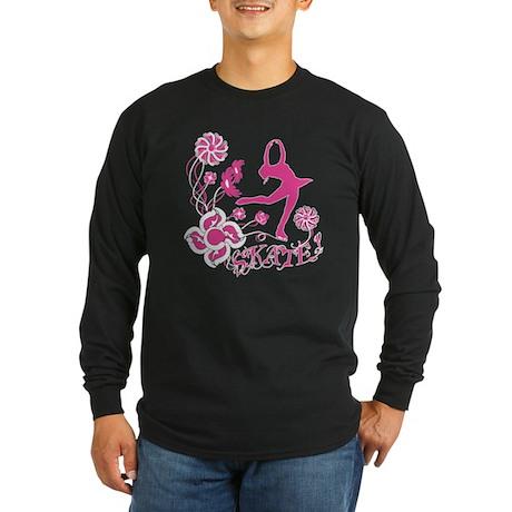Skate! Long Sleeve Dark T-Shirt