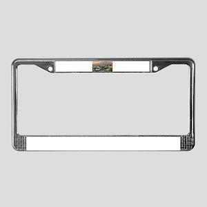 Coroico License Plate Frame