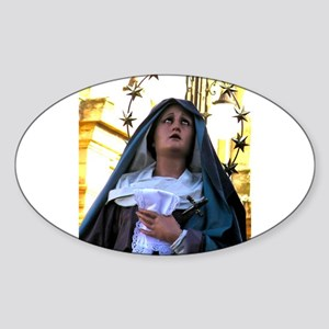 Our Lady of Sorrows Oval Sticker