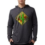 C4w Dark Hooded Shirt Long Sleeve T-Shirt