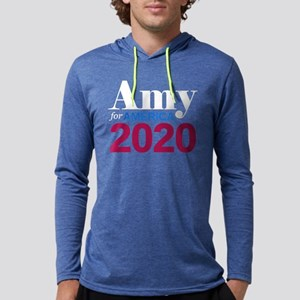 Amy for America Mens Hooded Shirt