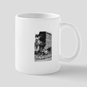Damage to Stepanakert Mug