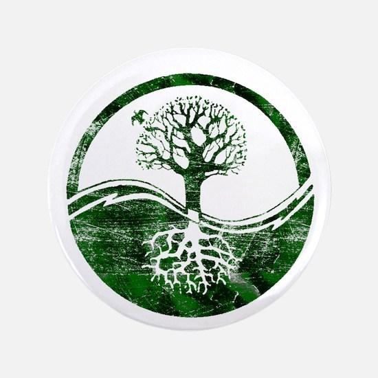 """Yin Yang Tree 3.5"""" Button"""