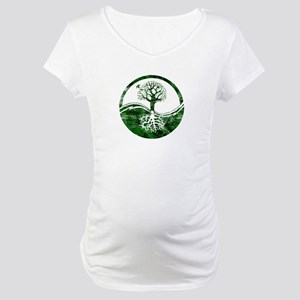 Yin Yang Tree Maternity T-Shirt