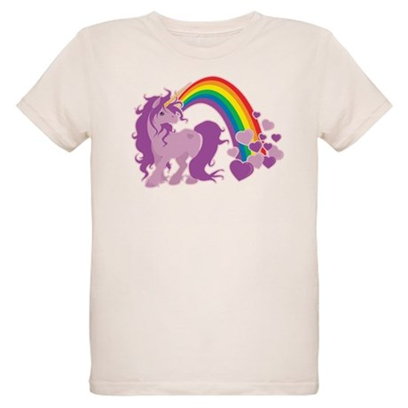 GIRLY UNICORN Organic Kids T-Shirt