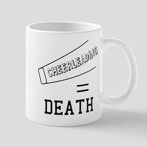 Cheerleading Equals Death Mug