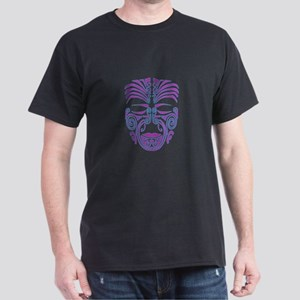 purple moko Dark T-Shirt