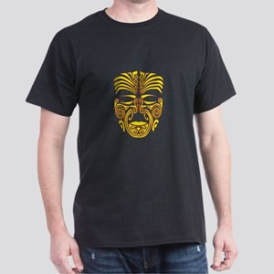 yellow moko Dark T-Shirt