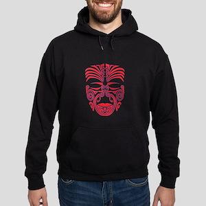red moko Hoodie (dark)