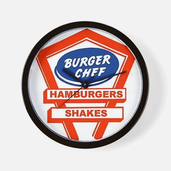 Burger Chef Wall Clock