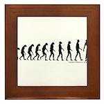 Zombilution Framed Tile