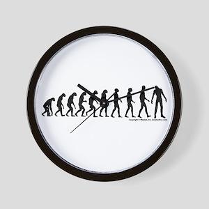 Zombilution Wall Clock