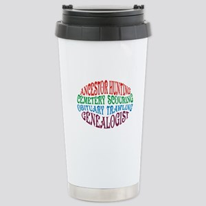 Ancestor Hunting Stainless Steel Travel Mug