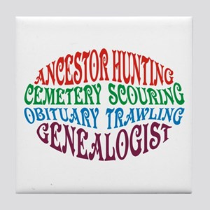 Ancestor Hunting Tile Coaster