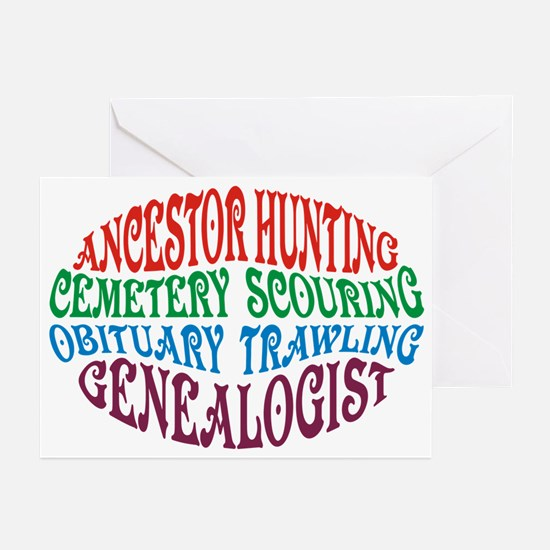 Ancestor Hunting Greeting Cards (Pk of 10)