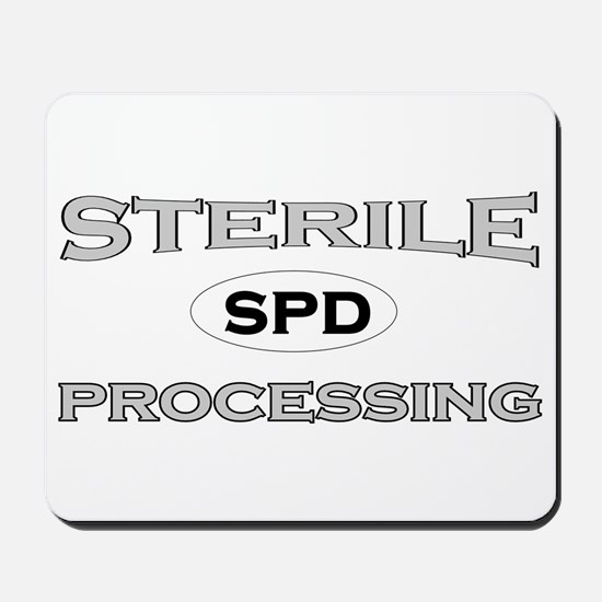 SPD 2 Gray Mousepad