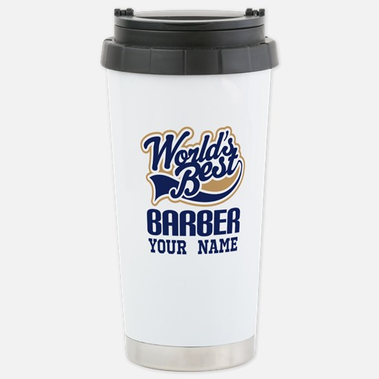 Cute Barber Travel Mug