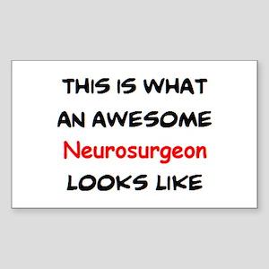 awesome neurosurgeon Sticker (Rectangle)