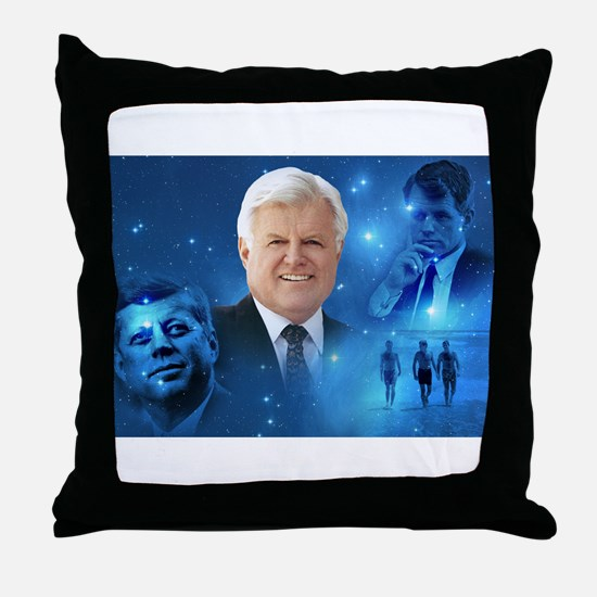 Senator Edward Ted Kennedy Throw Pillow