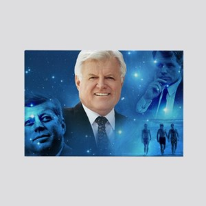 Senator Edward Ted Kennedy Rectangle Magnet