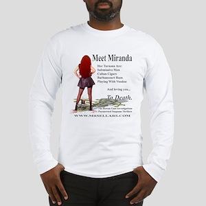 Miranda Logoed Apparel Long Sleeve T-Shirt