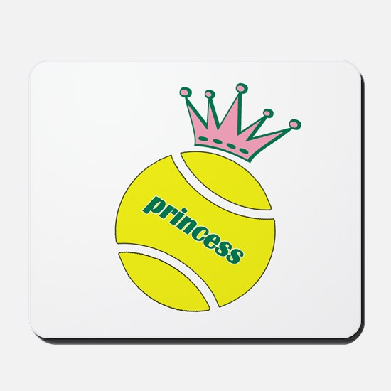Tennis Princess Mousepad