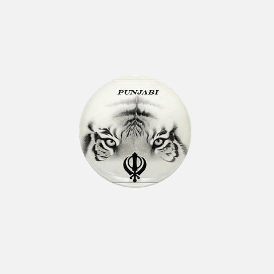 Unique Punjabi Mini Button