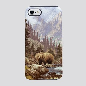Grizzly Bear Landscape iPhone 7 Tough Case