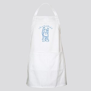 Life is Buddhaful BBQ Apron