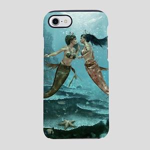 Friendly Mermaids iPhone 7 Tough Case