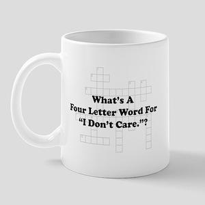 Four Letter Word Mug
