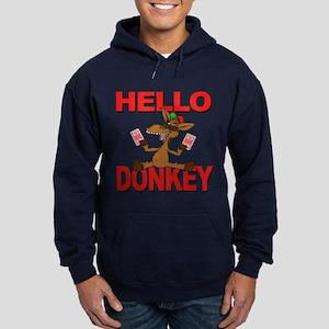 Hello Donkey - Hoodie (dark)