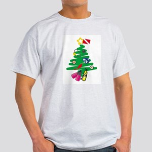A Very Scuba Christmas Ash Grey T-Shirt