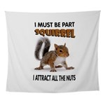 SQUIRREL Wall Tapestry
