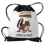 SQUIRREL Drawstring Bag