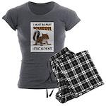 SQUIRREL Women's Charcoal Pajamas
