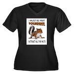 SQUIRREL Plus Size T-Shirt
