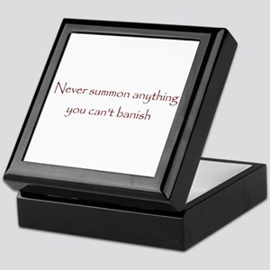 Banish Keepsake Box