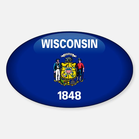 Wisconsin Oval Decal