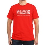 Broom Wagon Men's Fitted T-Shirt