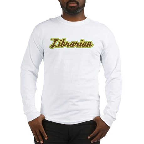Librarian Script Long Sleeve T-Shirt