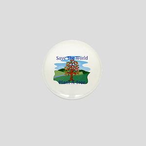 Plant A Tree Mini Button